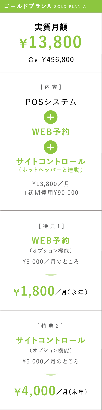 実質月額¥13,800