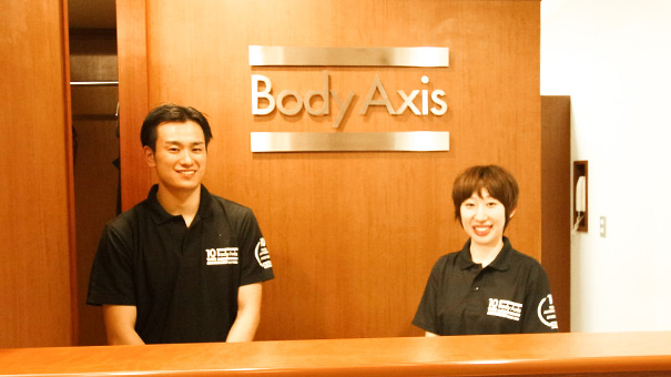 BODYAXIS スタッフ写真